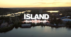 Thorpe Park, Island Beats 2015 - filmed by drone in surrey - inspire 1, phantom 3, gopro 4, s900